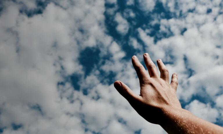 Hooplijn - beeld hand